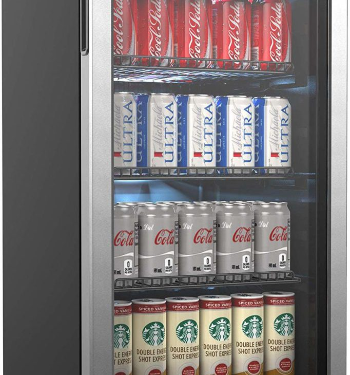 Home Labs Beverage Refrigerator