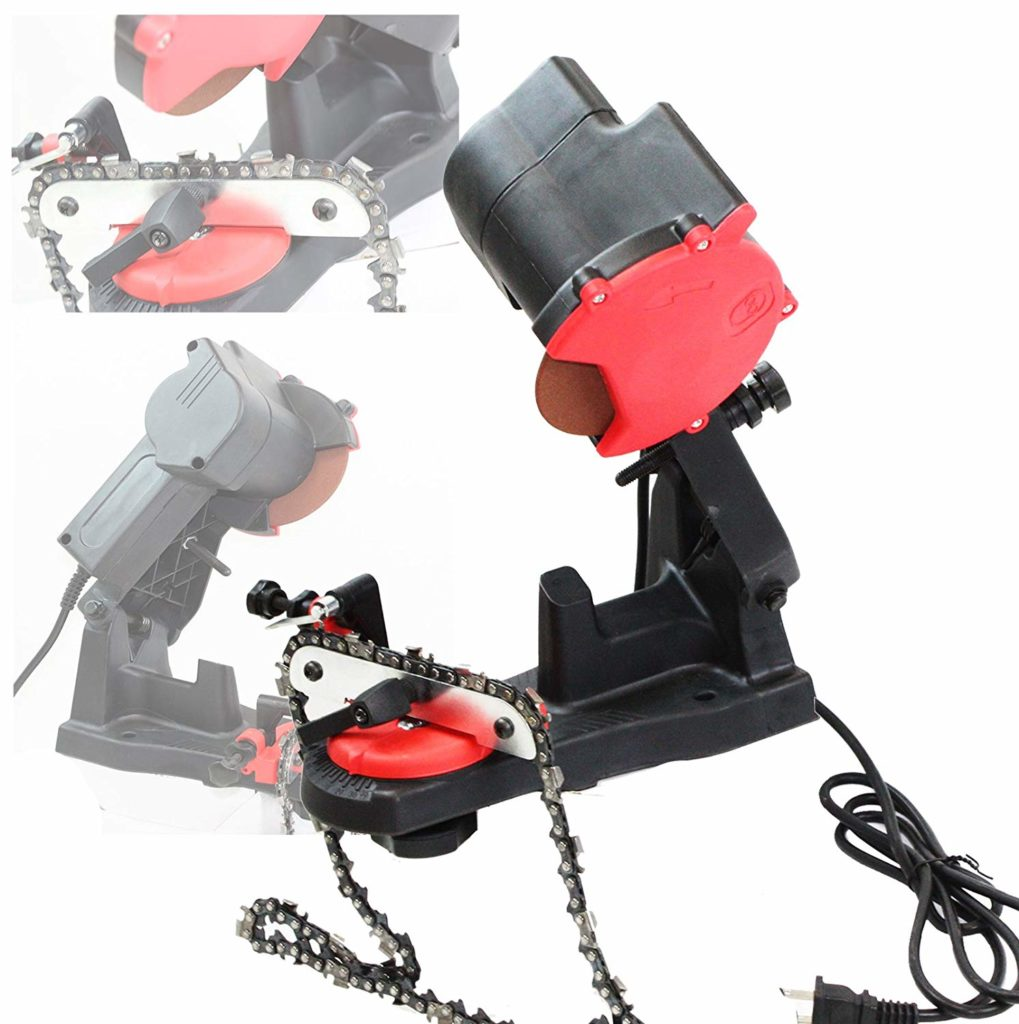 ELECTRIC GRINDER CHAIN SAW BENCH Chainsaw Sharpeners
