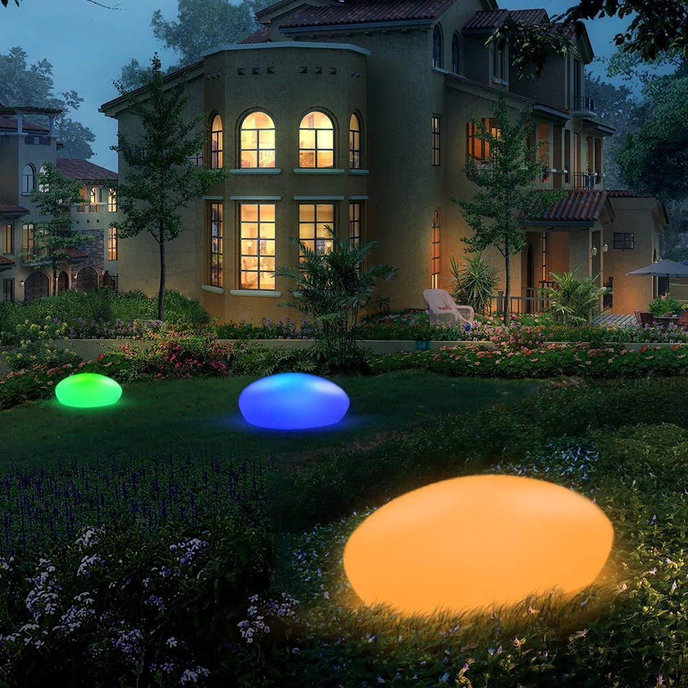 Blibly Solar Garden Lights Outdoor