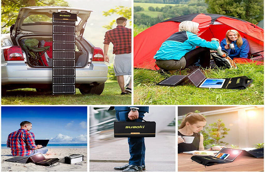 Best Solar Panel For Camping Reviews and Buying Guide