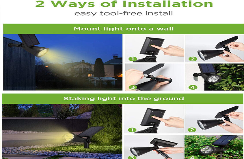 Best Solar Spot Lights Reviews and Buying Guide